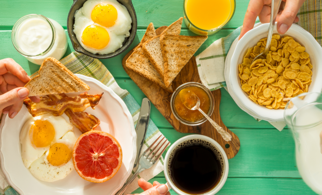 Gastfamilie + frühstück